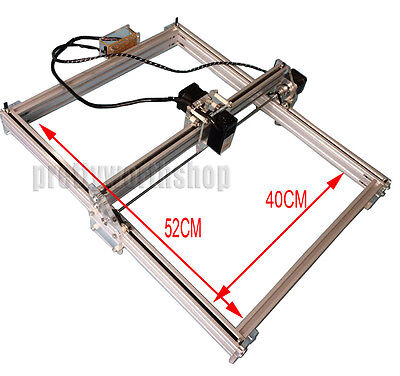 40*50CM DIY 2.5W Graviermaschine Lasergravur Maschine Engraving Cutting Carving
