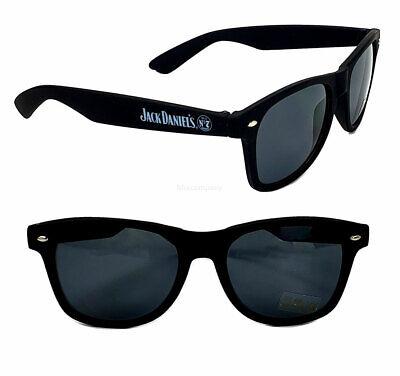 Jack Daniels Sonnenbrille - Nerd Brille / Partybrille mit UV SCHUTZ in schwarz