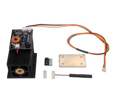 Universal Laser Module Head 10w 10000mw Blue Light 450nm For Diy Laser Engraver
