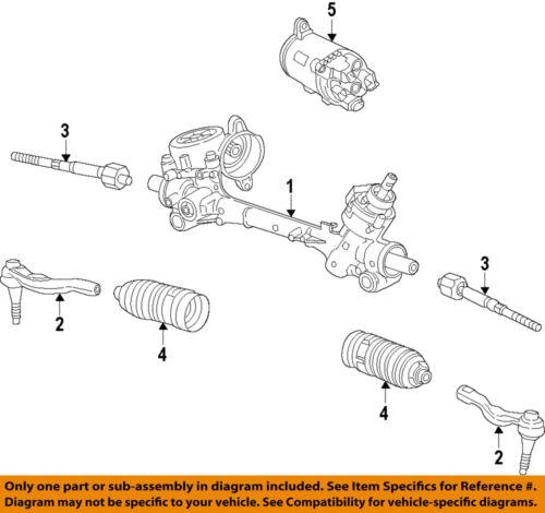 Chevrolet GM OEM 13-15 Malibu Steering Gear-Inner Tie Rod End 13354600