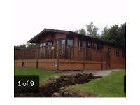 Beautiful 3 bedroomed wooden lodge for sale