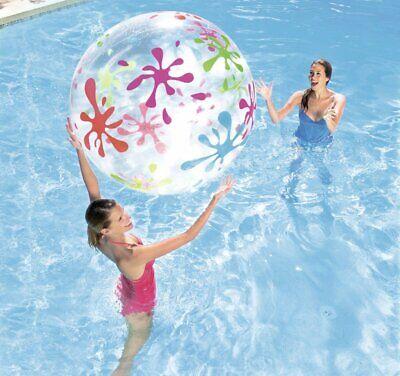 Jumbo Beach Ball 48 (Best Way Jumbo Beach Ball - Giant Inflatable Pool Toy - 48 inch)