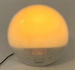 Philips Wake Up Light, Alarm Clock, Sunrise Sunset Simulation HF3520 TESTED