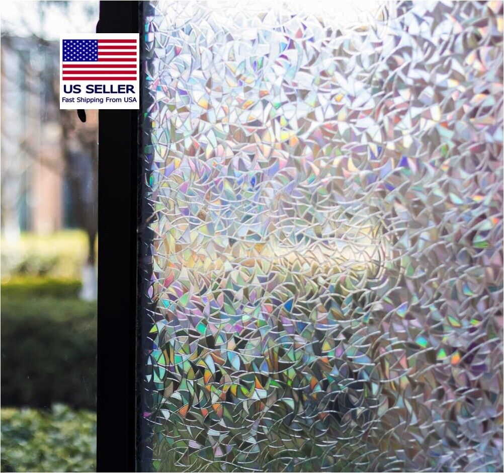 Decorative Privacy Window Film Anti-UV Static Cling