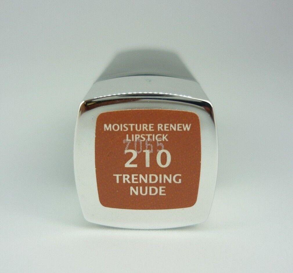 Manhattan Moisture Renew Lipstick Lippenstift 210 Trending Nude