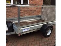 INDESPENSION PLANT/GOODS TRAILER 8x4