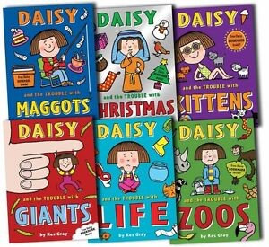 Daisy-and-the-Trouble-Collection-Pack-Kes-Gray-6-Books-Set-New