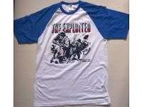 EXPLOITED ARMY LIFE T SHIRT SIZE L BRAND NEW SKINHEAD PUNK ROCK