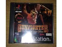 Gunfighter PS1 Game