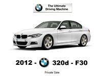 £2000 OFF) 2012 BMW 320D NEW SHAPE - 2.0 Diesel - White - TAX £20 - LCD - 1 owner - Service History