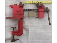 Record Imp Vice No. 80 Bench Mounted / Mobile Screw Clamp Model Makers Jeweller
