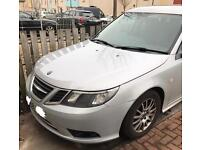 Saab 9 3 facelift 2008 1.9 TiD silver breaking for parts
