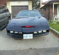83 Trans am knight rider kitt car