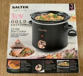 Salter Rose Gold Edition 3.5 litre Slow Cooker