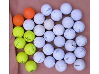 233 Assorted used GOLF BALLS ------------------ Various prices -----------------