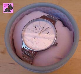 Radley RY4257 – Ladies 'Wimbledon' Stainless Steel Link Bracelet Chronograph Watch – RRP £150