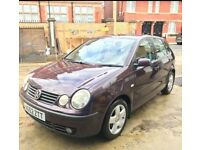 Volkswagen Polo 1.4 Petrol 2003 12 Months MOT Good Condition