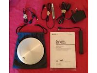 Sony 'D-EJ955' Portable CD Player (unboxed)