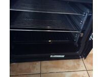 Ex condition white Leisure double oven electric oven. 3 years old. Selling due to refurbishment.