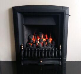 Valor Dream Fireslide 3.5 Kw Full Depth Inset Gas Fire (Black)