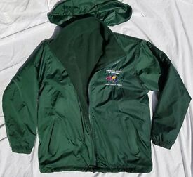 Berkshire Army Cadets green reversible fleece jacket
