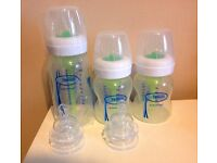 Dr Browns Options Deluxe Starter Kit Natural Flow Reduce Colic Burping & Wind (NewDesign)150ml,270ml