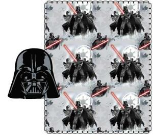 Star Wars Fleece Throw Blanket for Kids and Plush Stuffed Toy Pillow Set 40 x 50 Inch