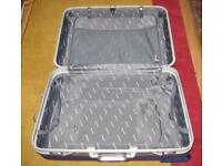 Large Good Quality Metropolis Hard Shell Trolley Suitcase.