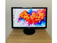"""Asus 24"""" LED Full HD (1920x1080) Slim Monitor, Excellent Cond"""