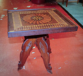 Early Century Colonial Tea Table