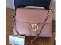New gucci interlocking medium bag