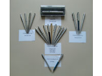 Collection of Collectible 19 Parker Pens and Pencils
