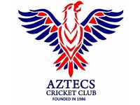 Aztecs Cricket Club Looking for Players Season 2018
