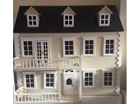 Beautiful Georgian Dolls' House - Excellent Christmas Present