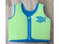 Zoggs Green Swim Jacket 4-5years