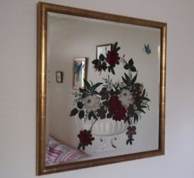 BARGAIN!!! 1920s Art Deco Shabby Chic Wall Mirror - STUNNING in real life!!