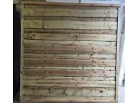 TIMBER/ WOODEN PRESSURE TREATED GARDEN FENCE PANELS ~ WAYNEYLAP🌳
