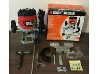 Black and Decker Router KW850E 1100W (used only once)