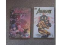 Marvel Hard Back Avengers The Initiative Comic Books x2 Brand New Unopened.