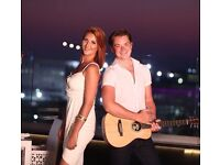 Acoustic Covers Duo - available for UK Gigs. Top 40/Rock/soul/R&B/Latin/Blues etc