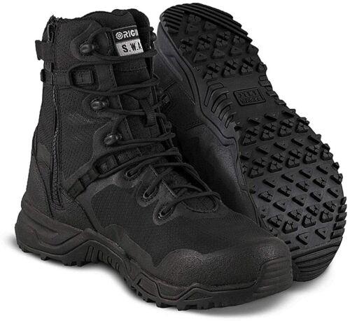 """Original SWAT Alpha Fury 8"""" Side Zip Tactical Boot"""