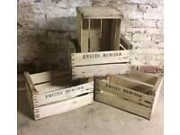 Decorative French Fruit Boxes