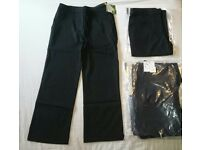 Girls trousers packs of 2 new
