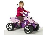 Falk Princess Pedal Kids Ride-On Quad Bike suitable for 3-5 year olds Children - New in Box