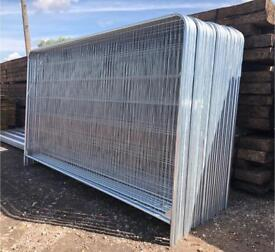 🚧 Site Security ~ Temporary Heras Fencing Sets ~ Panel/Foot/Clip ~ New
