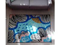 IKEA rug 'underwater scenery'