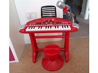 ELC Piano and stool