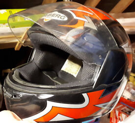 Caberg Motorcycle Helmet Large. Motobike. Motocross. Used in good condition.