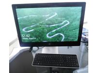 """HP Pavilion 23-Q110NA 23"""" Touchscreen All in One PC Computer AMD A10-8700P 8GB RAM 1TB HDD"""