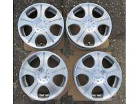 Crimson Club Linea Set of Aluminium Wheels 16 x 7JJ multi fit